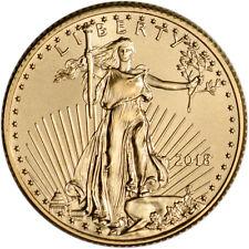 2018 American Gold Eagle (1/4 oz) $10 - BU
