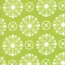Moda HANDMADE Green 55141 14 Fabric By The Yard By Bonnie & Camille