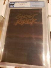 Ghost Rider 40 Parchment Variant. PGX 9.9   total black cover not cgc