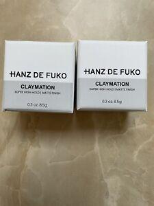 HANZ DE FUKO LOT 2 - CLAYMATION & HEAVYMADE - SUPER HOLD - Travel Size 8.5 g Ea