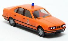 Herpa - BMW 5er E34 535i Feuerwehr Berlin leuchtrot ELW KdoW Modell - 1:87 H0