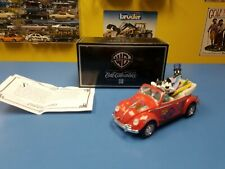 ERTL COLLECTIBLES 1948 VOLKSWAGEN WITH  PEPE LE PEW, PENELOPE & PLAYBOY PEGUIN