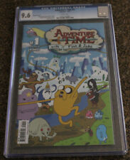Adventure time (2012) VAraint B Chris Houghton CGC 9.8 NM NEAR MINT