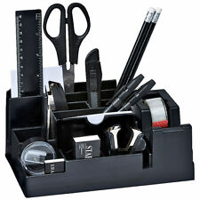17-tlg Schreibtisch-Organizer-Set Schreibtischbutler Büro-Zubehör Stiftehalter