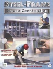 USED (GD) Steel-Frame House Construction by Timothy J. Waite
