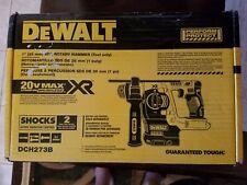"DEWALT 20V MAX Li-Ion BL SDS 3-Mode 1"" Rotary Hammer (Bare) DCH273B New"