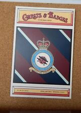 Royal Air force Memorial Flight Crests & Badges of the armed services postcard