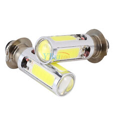 2x 6000K White H6M COB LED Motorcycle ATV Headlight Fog Light Bulb PX15d 12V DH