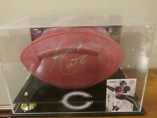 "Jay Cutler Chicago Bears Signed Autographed NFL ""The Duke"" Football in Case COA"