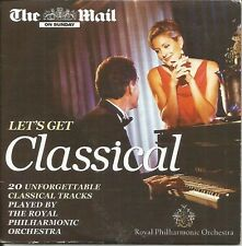 LET'S GET CLASSICAL - RPO - MAIL ON SUNDAY PROMO MUSIC CD