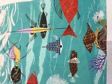 needlepoint canvas    C Harper                      Birds and Fishes