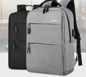 Laptop Backpack Anti-theft Waterproof For Macbook Air Pro 15 With Usb Charging