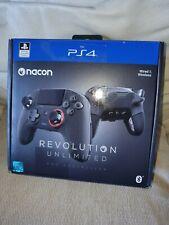 NACON Revolution Ilimitado Pro Gamepad para PlayStation 4-Negro