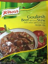 12 Bags of Knorr Goulash Mix - Beef Stew,  Best By Date Sale