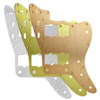 Aluminum Metal JM Pickguard Alu Scratch Plate for Vintage US Jazzmaster Guitar