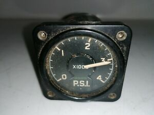 6a 4744  Press Gauge 0 - 4000 Psi