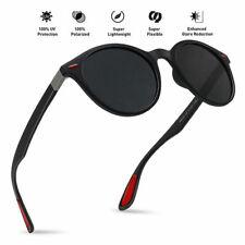 Classic Vintage Round Polarized Sunglasses for Men Women UV400 Protection Lens