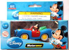 Disney Store  Motorama Mickey Die Cast 1:43 New in Box