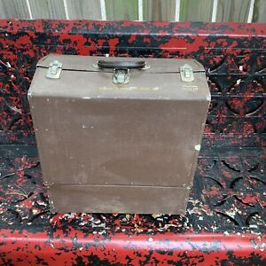 Hard To Find Working Philson Texan 14. Huge Vintage Tackle box, Read Description