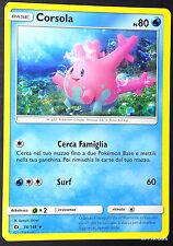 CORSOLA 36/149 in Italiano POKEMON Sole Luna