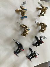 Vintage 1994 F-P Inc Lot of 7 action figures Knights Vikings 3 Inch Poseable