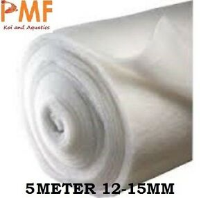 5M Aquarium Pond fish tank Filter Wool floss 12-15mm 69cm Wide External Koi