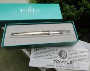 NIB Towle Sterling Silver Lip Brush