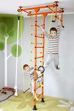 Sprossenwand Klettergerüst Wallbars Trainingsgerät Kinderzimmer FitTop M1