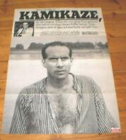 A1. Filmplakat, KAMIKAZE,IM LAUF DER ZEIT / Wim Wenders,Hanns Zischler