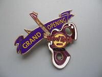 Hard Rock Cafe Tampa - Grand Opening - Scissors Guitar HRC Pin