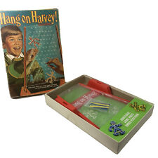 Vintage Hang On Harvey Game from Ideal 1969 Complete