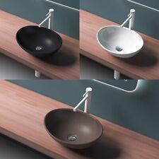Keramik Waschbecken Aufsatzwaschbecken Schwarz Waschtisch mehrere Farben NANO
