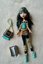 "Monster High Doll Cleo de Nile ""School's Out""  Loose"