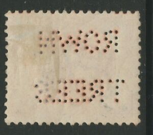 GB QV perfin ROWNTREES on mint ½d vermilion jubilee