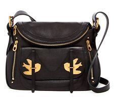 NWT $458 Marc Jacobs Natasha Petal To The Metal Leather Crossbody Bag! Back