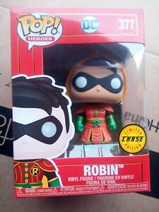 NEW Funko Pop Chase Robin Imperial Palace  #377 Batman DC New Rare hood up