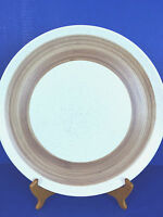 "CANONSBURG POTTERY SANDSTONE 13 1/2"" SERVING PLATTER - MADE IN USA"