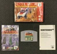 Midway Off Road Challenge Nintendo N64 Complete CIB TESTED Working Original
