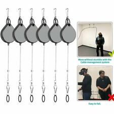6-Pack VR Cable Management System for HTC Vive/Oculus Rift/PSVR/Odyssey Headsets