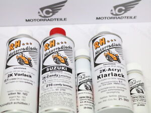 Motorcycle color colour laque 216 candy lavender 375 ml + Klarlack Suzuki GT 750