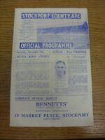 10/11/1945 Stockport County v Oldham Athletic [Division 3 North West] (folded).