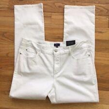 NYDJ Womens 16 P Marilyn Stretch Lift Tuck Stretch Straight Leg Jeans NEW $114