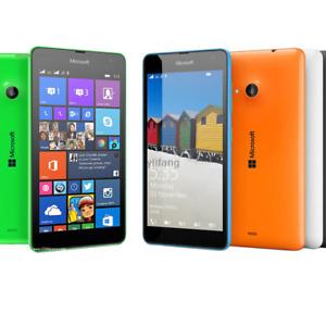 Unlocked Nokia Microsoft Lumia 535 Windows 8GB Original Wifi 5MP GPS Smartphone
