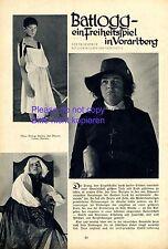 Theaterstück Batlogg in Schruns 1933 Bericht Montafon Freiheit Vorarlberg +