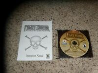 Pirate Hunter Seize & Destroy (PC, 2003) Game with instruction manual