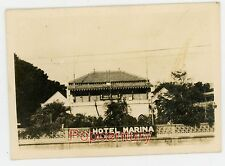 WW2 Photograph 1945 China India Ledo Road CBI GSS Assam India Hotel Marina