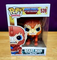 Funko Pop! Television Beast Man Masters of the Universe #539 Vaulted