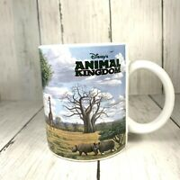Disney's Animal Kingdom 1998 Opening Coffee Mug 10 oz Clive Kay Artist Tree Of