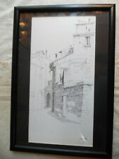 Pen And Ink Drawing Luciani D