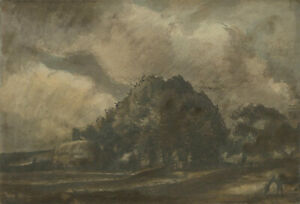 Harold Hope Read (1881-1959) - Signed 1921 Watercolour, Forest Farmland, Silpho